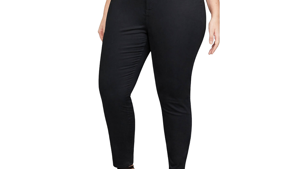 Lane Bryant Black Skinny Jeans