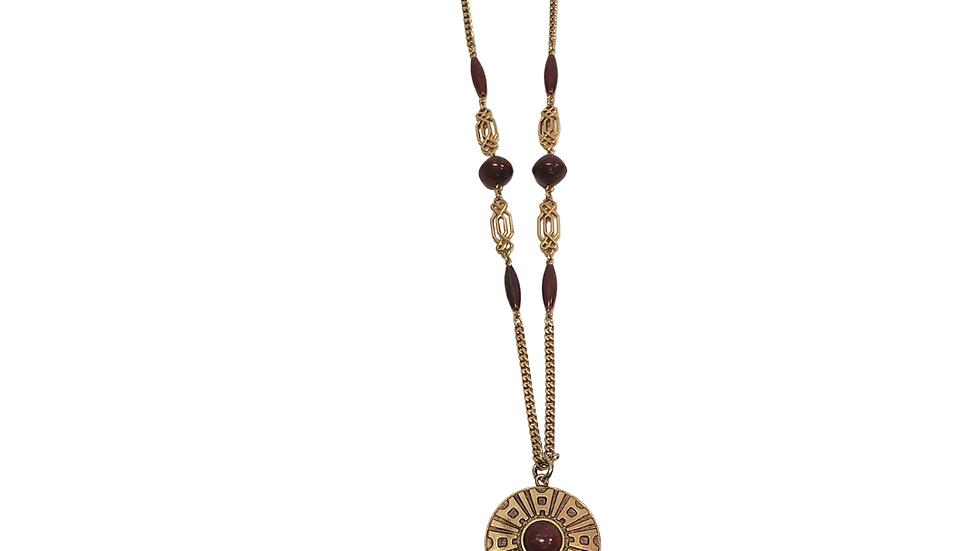 PRELOVED Medallion Necklace