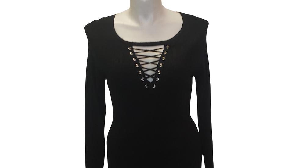 PRE-LOVED 18/20 Ashley Stewart Black Sweater