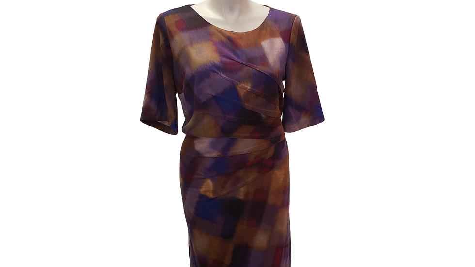 PRE-LOVED London Times Print Dress