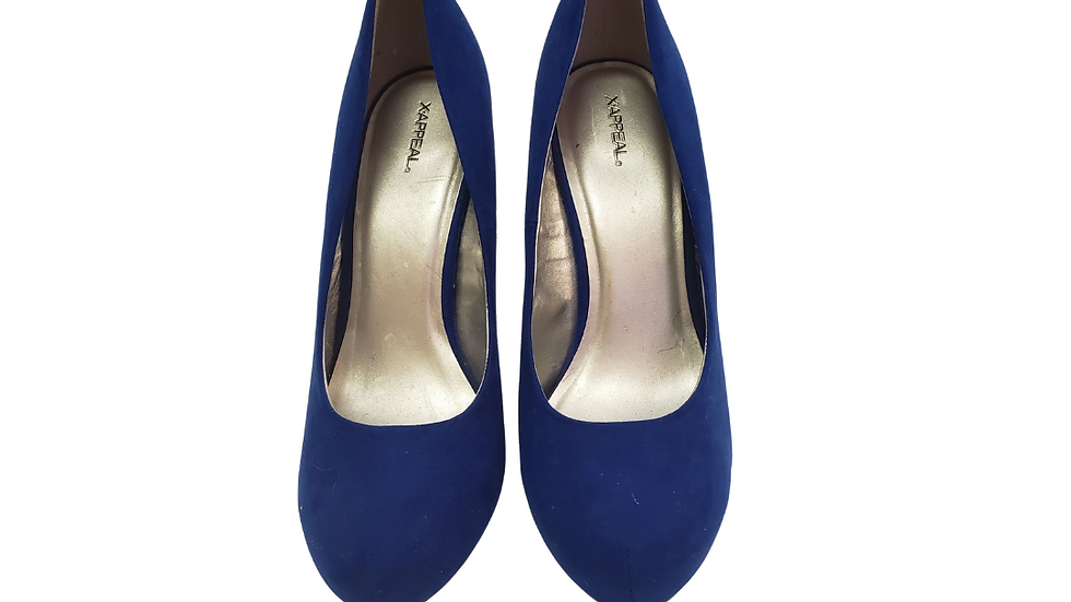 PRE-LOVED XAPPEAL 10  Royal Blue Pumps