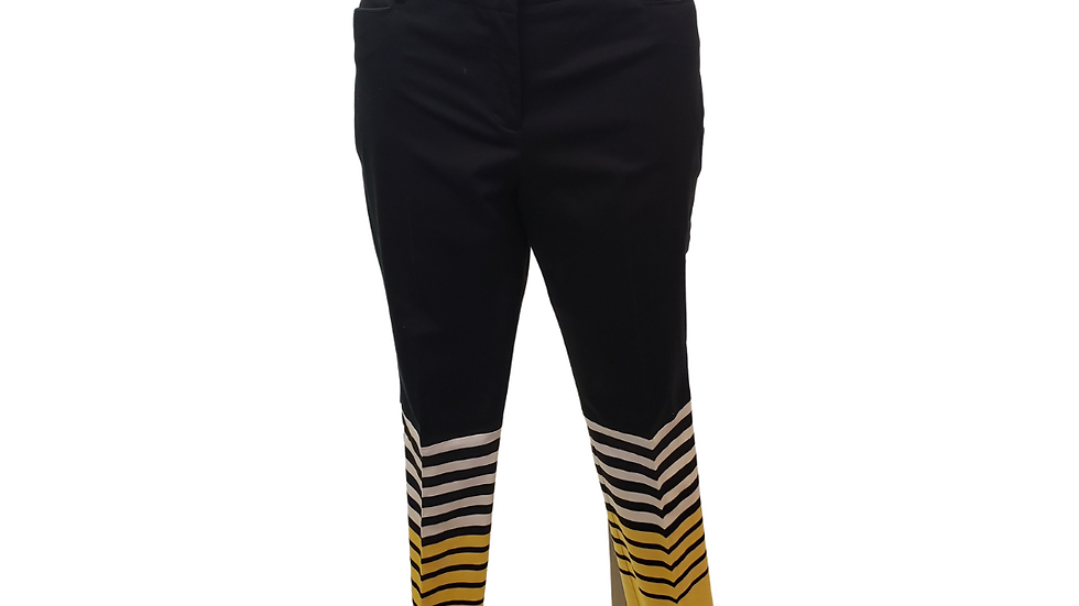 PRE-LOVED 16  New York Company Navy Stripe Pants