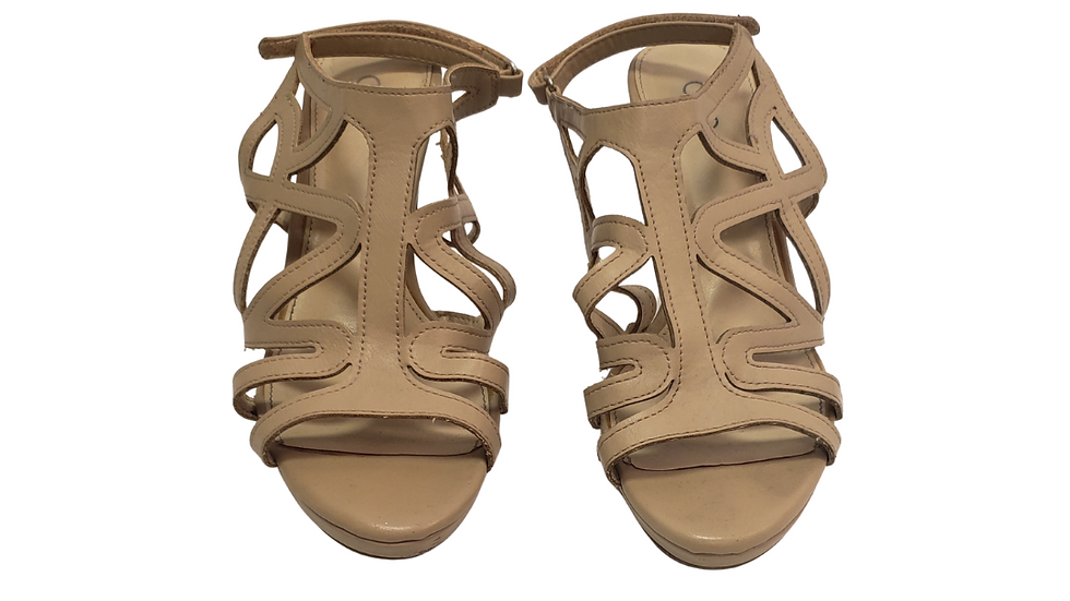PRE-LOVED Cato Beige Sandals