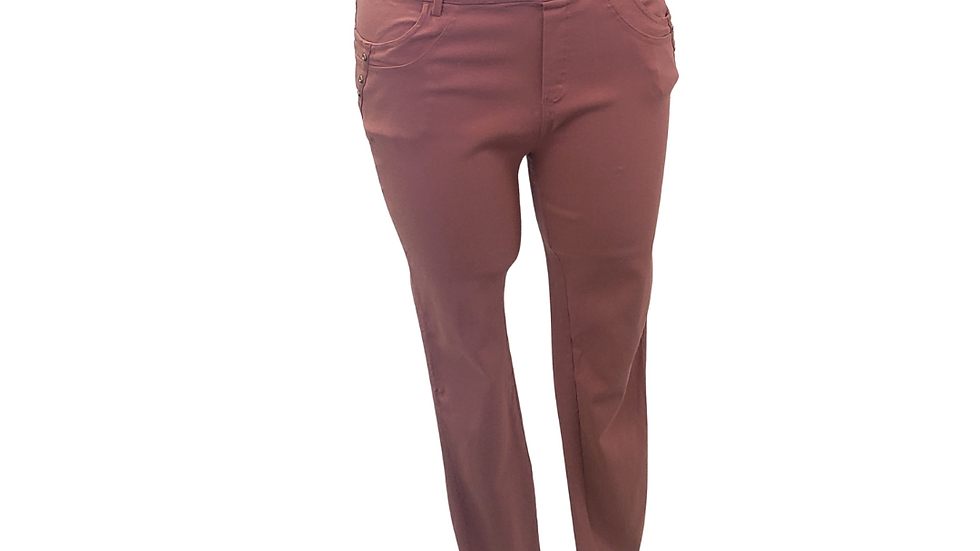 PRE-LOVED 3X Thrill Mauve Jeggings
