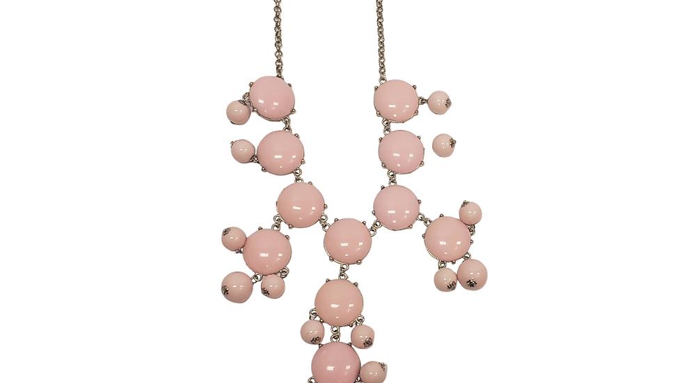Light Pink Bubble Necklace