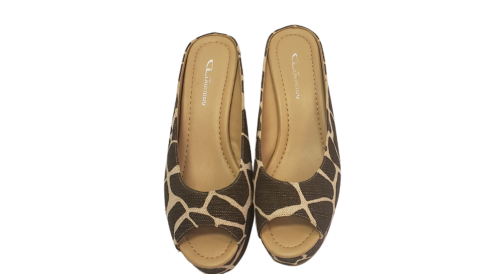 PRE-LOVED  11 CL by Laundry Print Mules