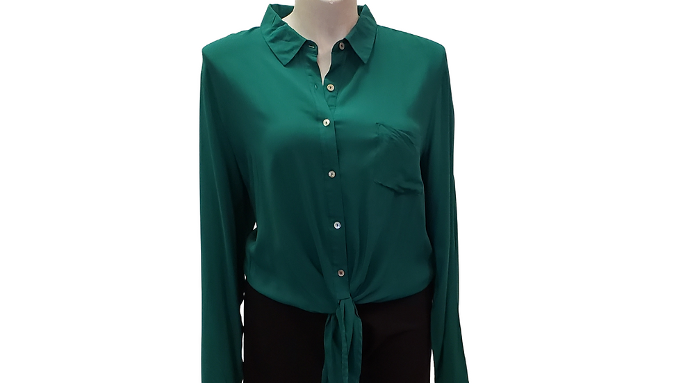 3X Forever 21 Kelly Green Top