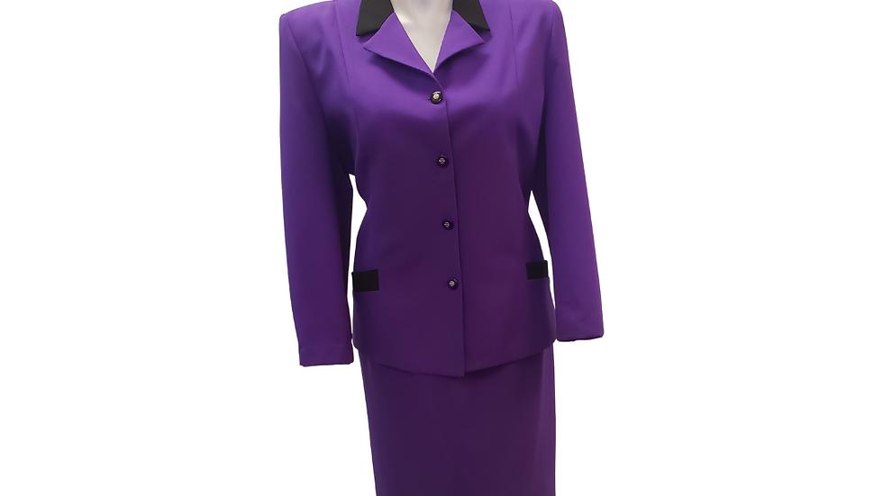 PRE-LOVED  Nikki 2 Piece  Purple Suit