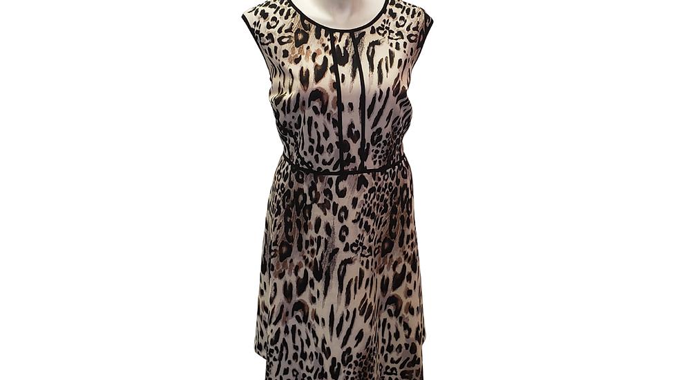 22 W Studio One Cheetah Print Dress