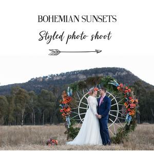 Bright Boho Bohemian wedding inspiration Blue Mountains Floral Designs Blog