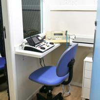 Sala de audiometria