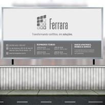 Placa de obra - Ferrara