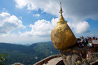Gloden rock, Myanmar