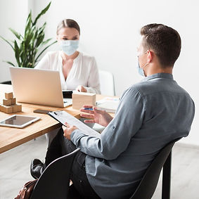 people-work-office-during-pandemic-weari