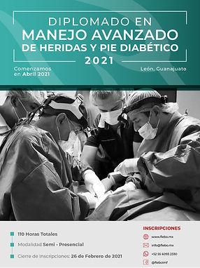 Diplomado en Manejo Avanzado de Heridas y Pie Diabético 2021