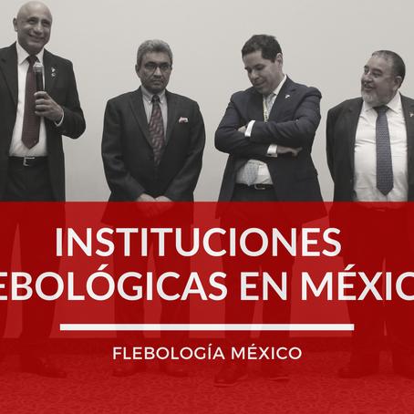 Principales Sociedades Flebológicas en México