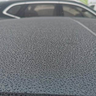 Hydrophobic Coating Results