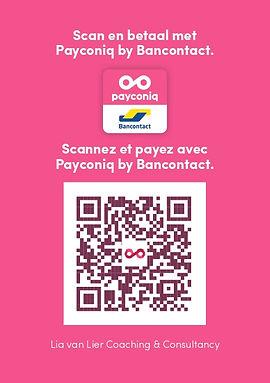 Payconiq - QR-code - Lia van Lier Coachi