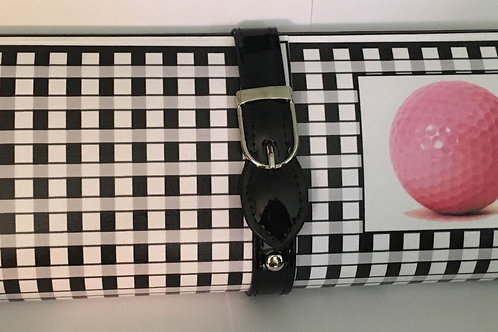 Pink Golf Ball Clutch Bag