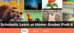 Scholastic Learn at Home PreK- K