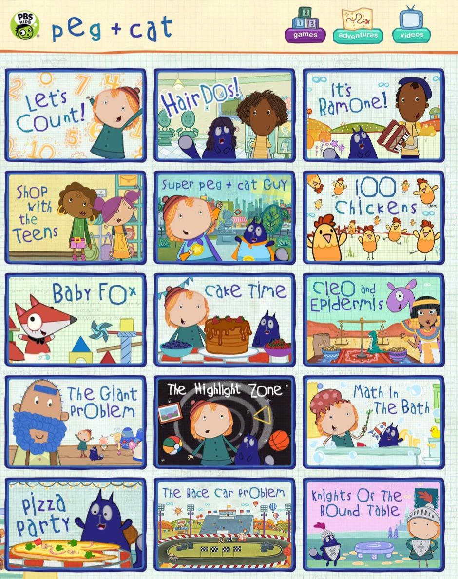 PBS Peg & Cat Adventures