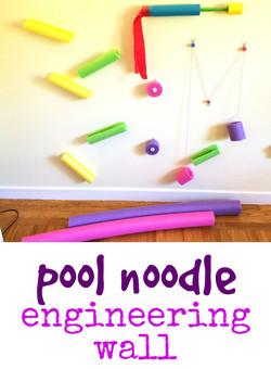 Pool Noodle Engineering Wall