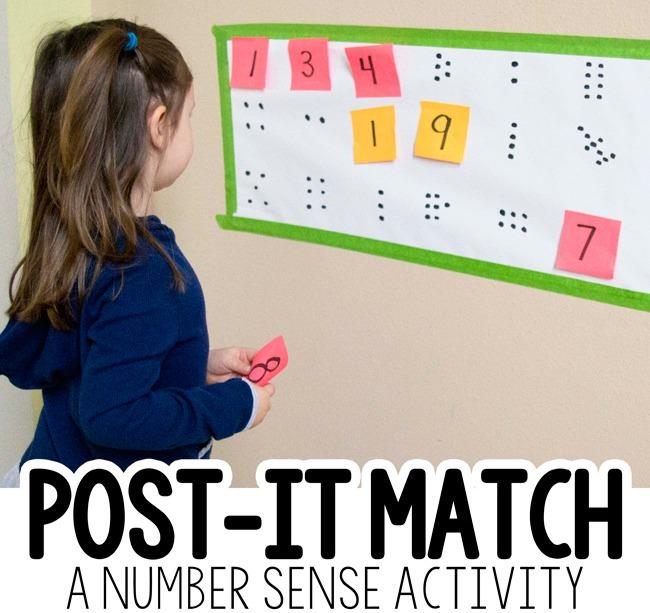 Sticky Note Number Match