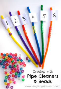 Pipe Cleaner Counting