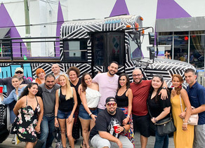 Explore Wynwood with an Open Air Party bus