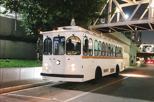 Party Trolley Exterior