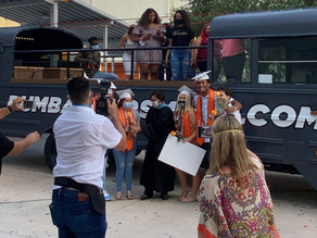 Celebrate Your Graduation With our Open Top Party Buses