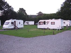 The caravan site