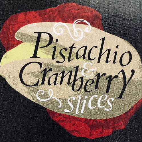 Pistachio & Cranberry Slices