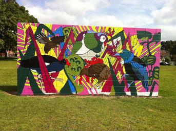 Native Bird Mural in Park.jpg
