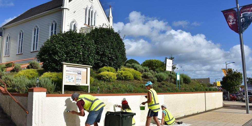 Waiuku Town Centre Clean-up