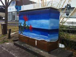 Beach Mural on Chorus Cabinet.jpg