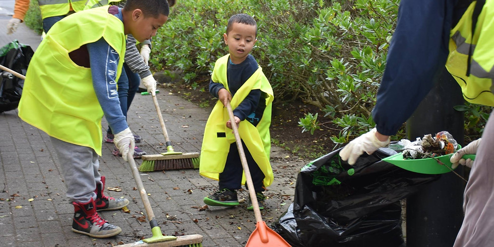 Old Papatoetoe Town Centre Clean-up
