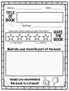 How To Teach Kids How To Write A Book Report