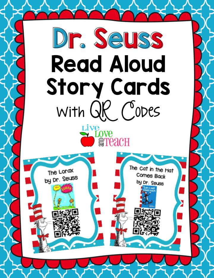 Dr  Seuss Read Aloud QR Codes