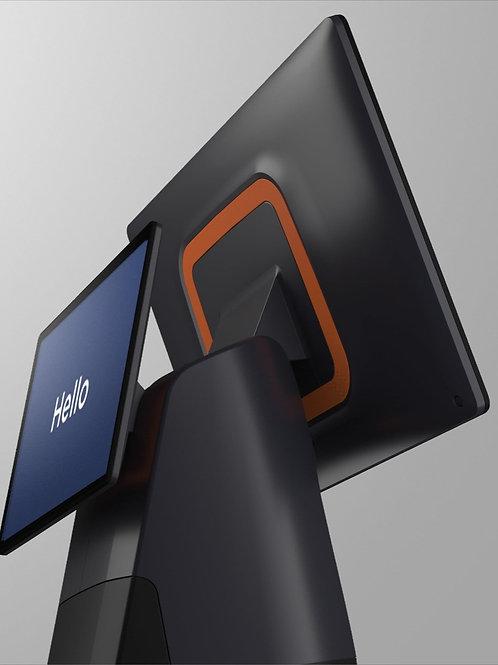 eNz T2 Dual Display  Komplett Paket