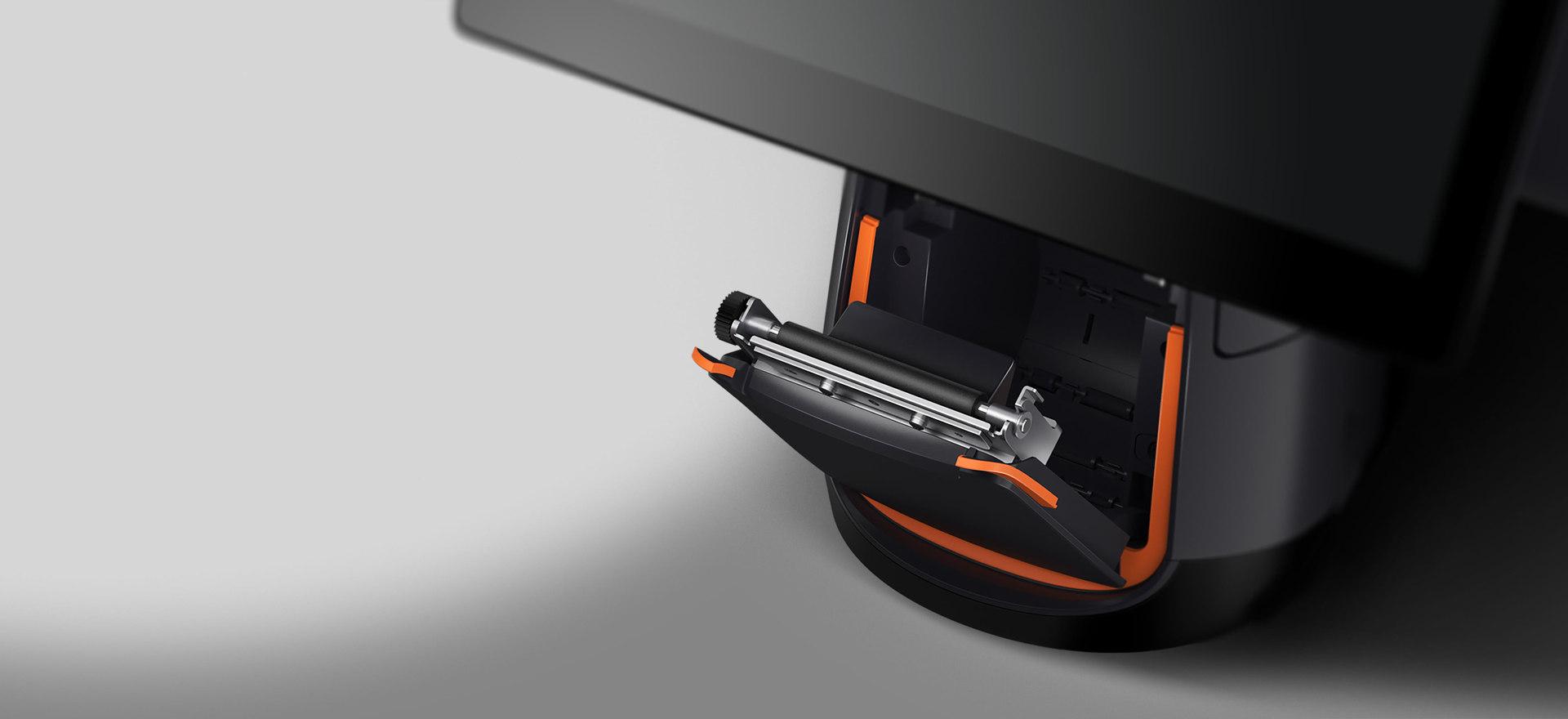 Integrierter Bondrucker