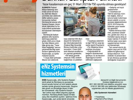 Aus der türksichen Presse / Türk basinindan