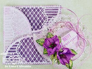 Interlocking Anniversary Card