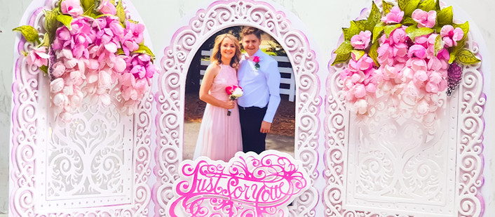 Just For You Decorative Frame (Tutorial)