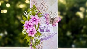 Slimline Floral Card