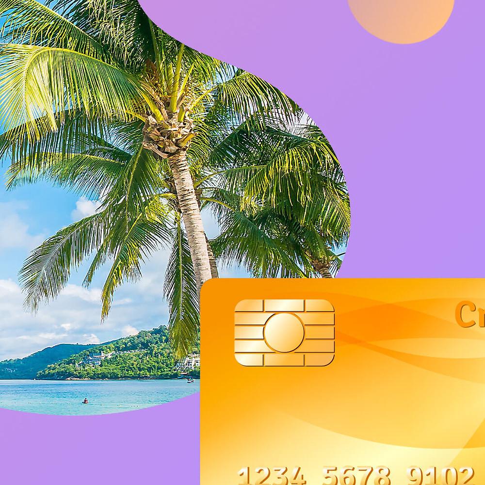 сколько банковских карт брать в отпуск