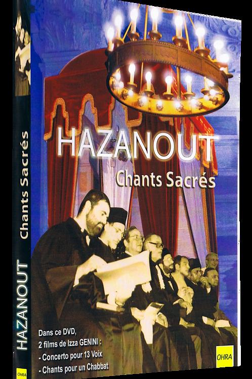 HAZANOUT CHANTS SACRES
