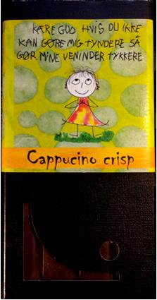 Chokolade knas og cappucino Engros