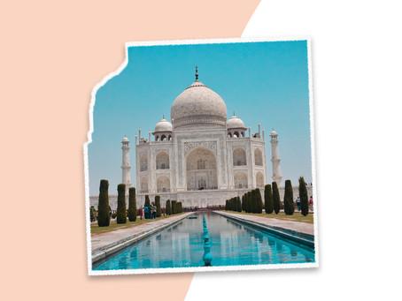 O Taj Mahal de Marcos