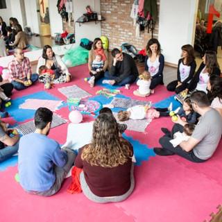 Roda de conversa familiar - Parceria com a Dança Materna